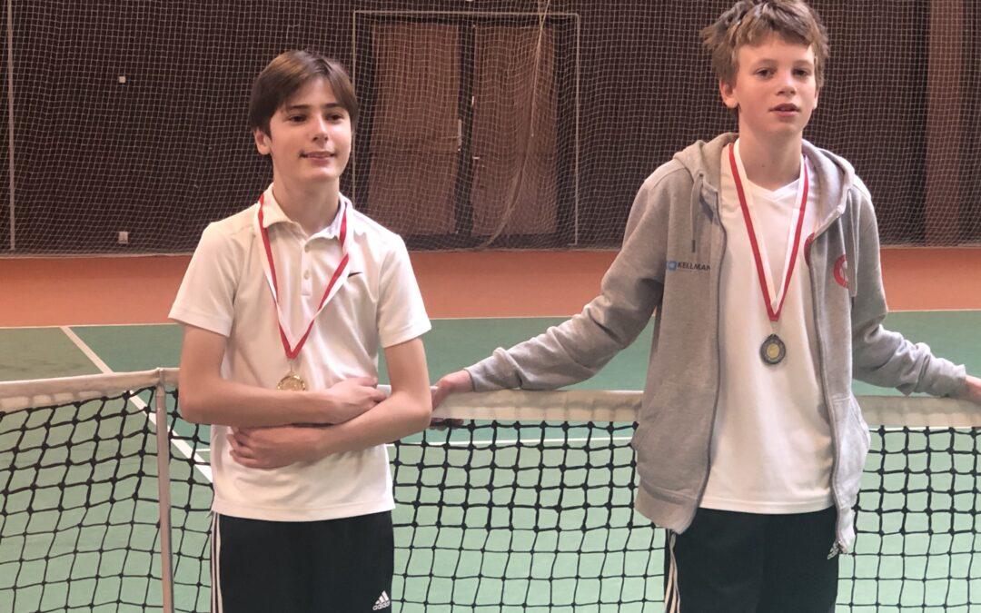 Talentfuld juniorspiller fra Hjortekær Tennisklub vinder turnering