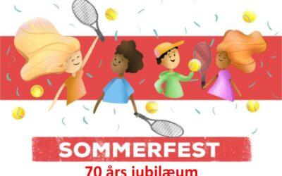 Sommerfest og 70 års jubilæum